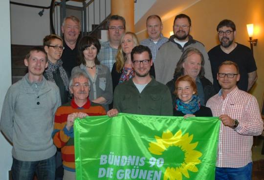 ...das ist ein Teil der Eisenacher Liste für die Kommunalwahl.