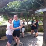 Andreas schwingt das Tanzbein...