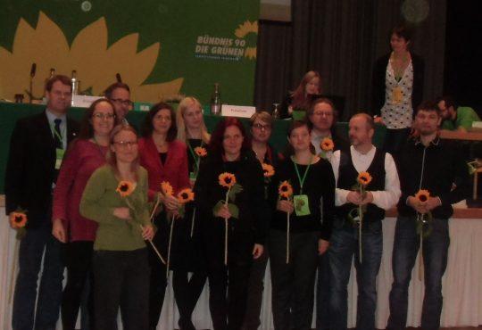 die grüne Liste Thüringen für 2017